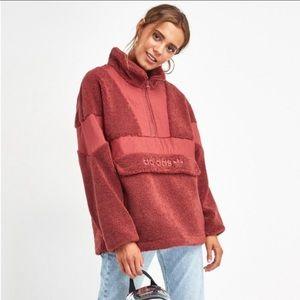 Adidas Sherpa OTH Pullover Jacket